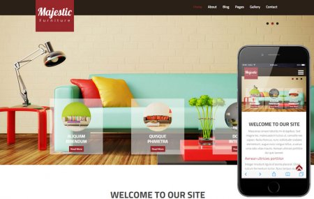 Majestic a Interior Architects - Шаблон HTML5